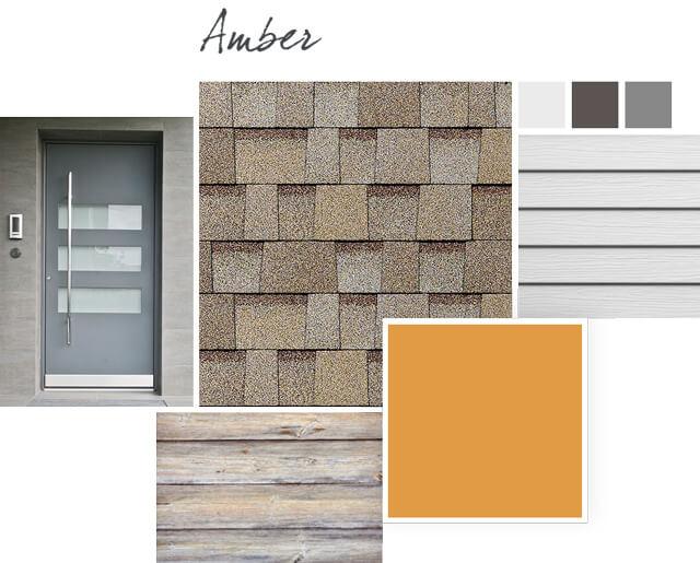 Owens Corning Shingles - Amber - Design Palette 1
