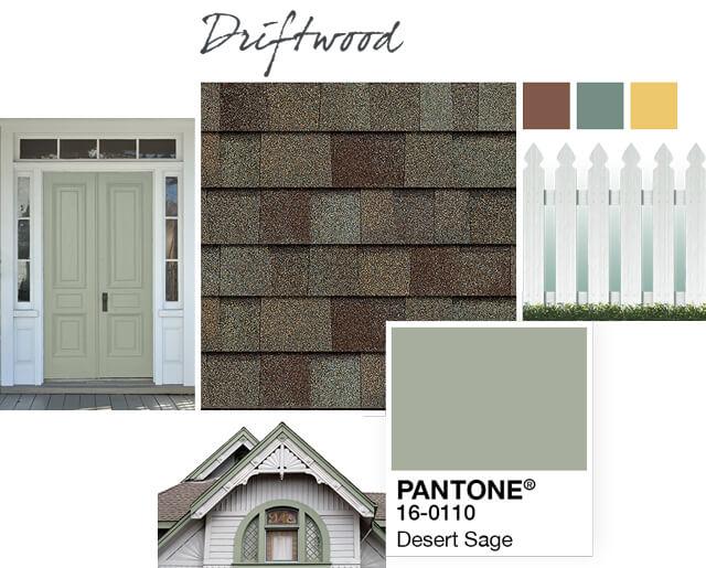 Owens Corning Shingles - Driftwood - Design Palette 1