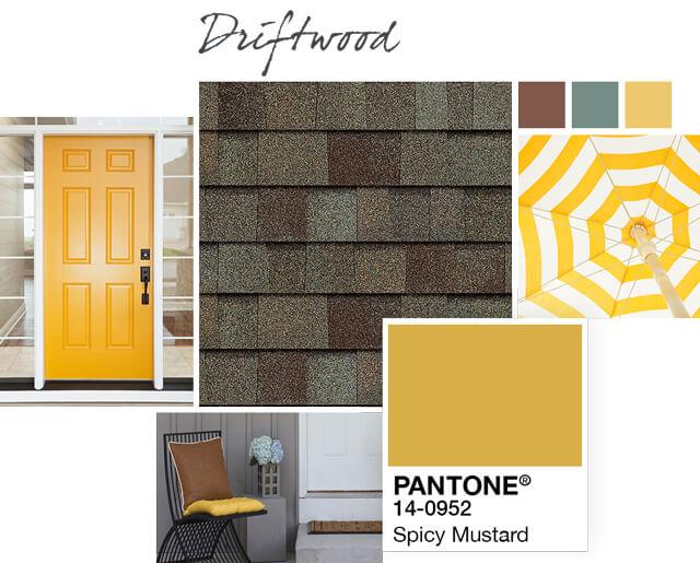 Owens Corning Shingles - Driftwood - Design Palette 2