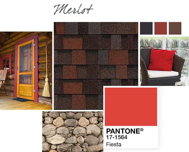 Owens Corning Shingles - Merlot - Design Palette 1