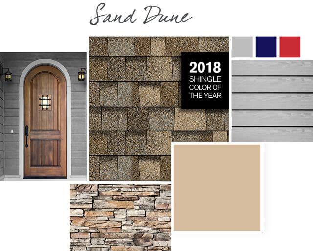 Owens Corning Shingles - Sand Dune - Design Palette 1