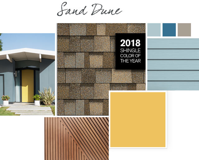 Owens Corning Shingles - Sand Dune - Design Palette 2