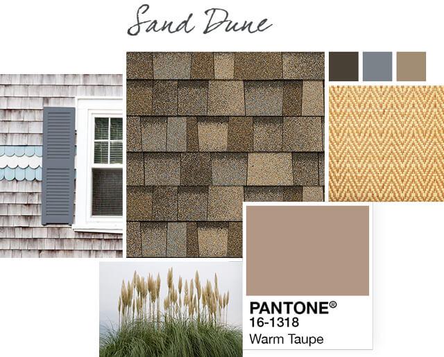 Owens Corning Shingles - Sand Dune - Design Palette 3