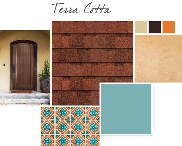 Owens Corning Shingles - Terra Cotta - Design Palette 1