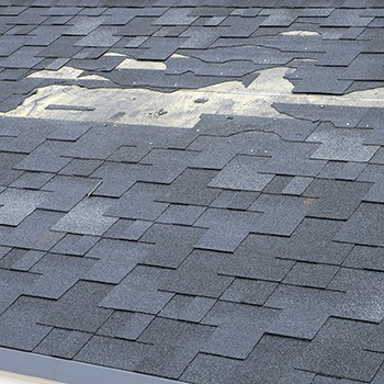 Roof Repair from Storm Damage by Property Pros Roofing